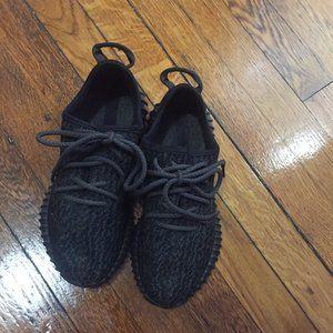 Adidas men's Yeezy Boost 350 Pirate black